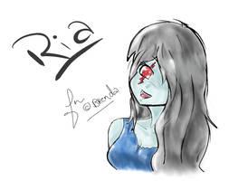 Ria~  L4D by Kiumii