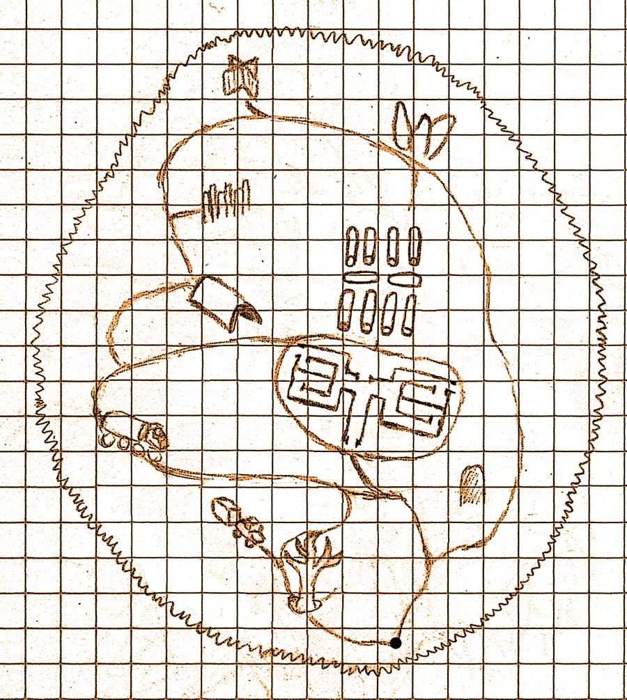 Slender Map by Lillyanna333