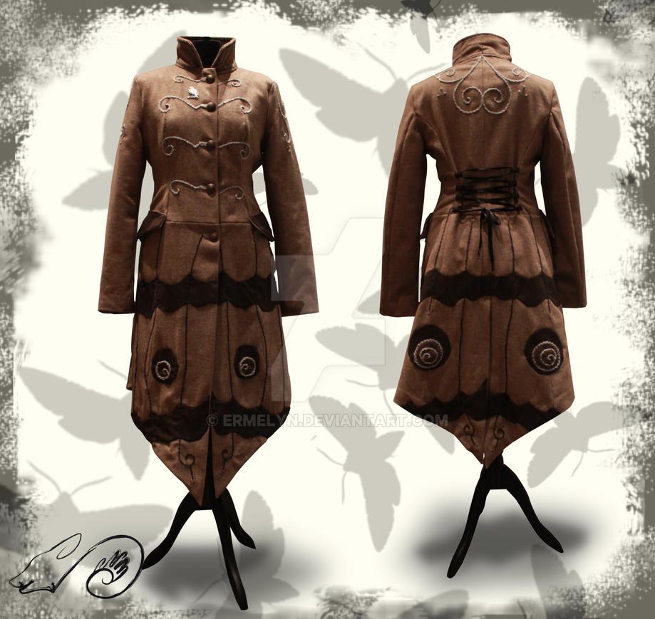 Saturnia Coat by Ermelyn