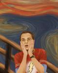 Sheldon Cooper- The scream