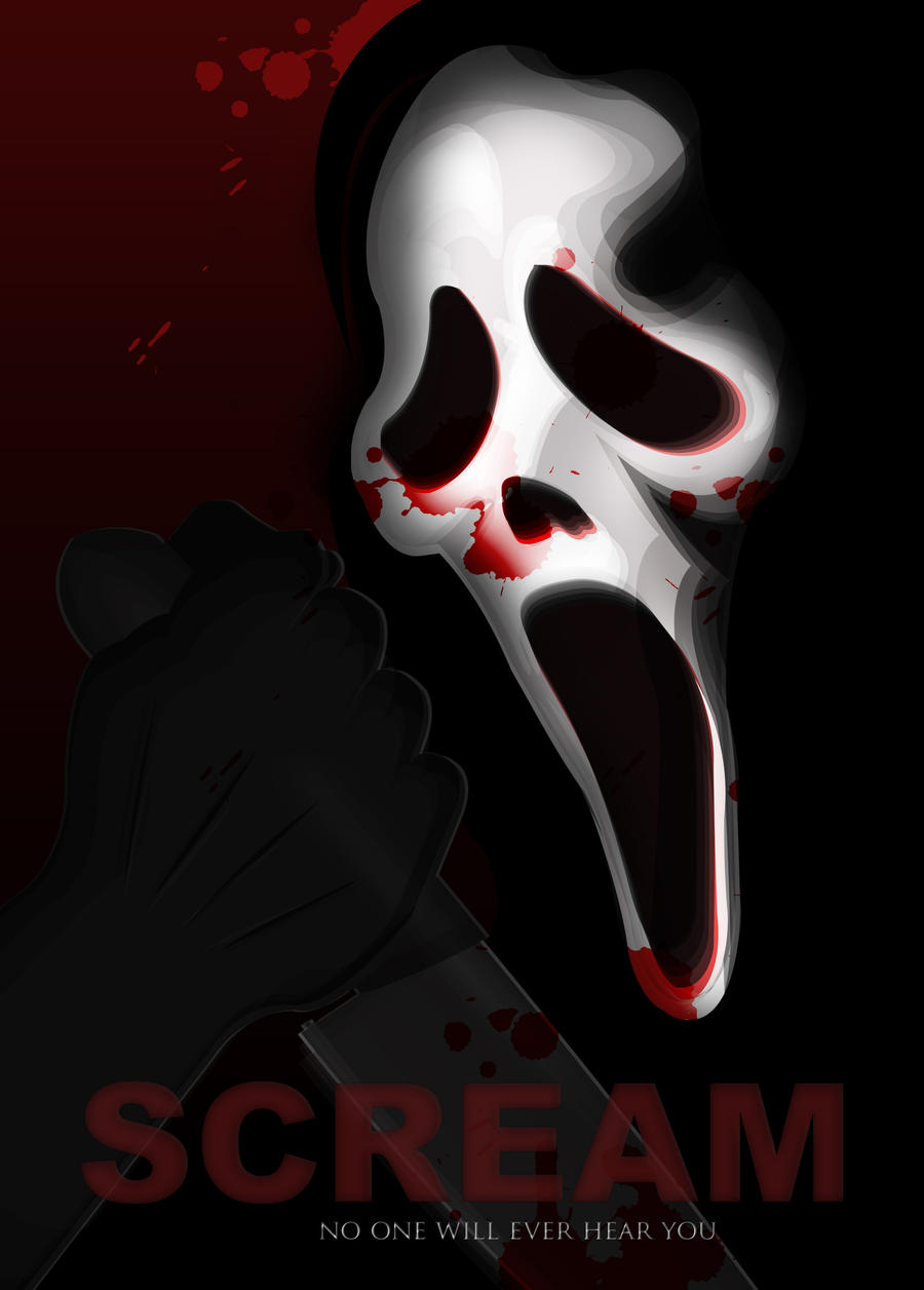 Favourite Scary Movie - Scream by qrillan