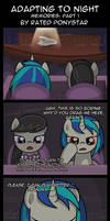 Adapting To Night Memories - Part 1 by Rated-R-PonyStar