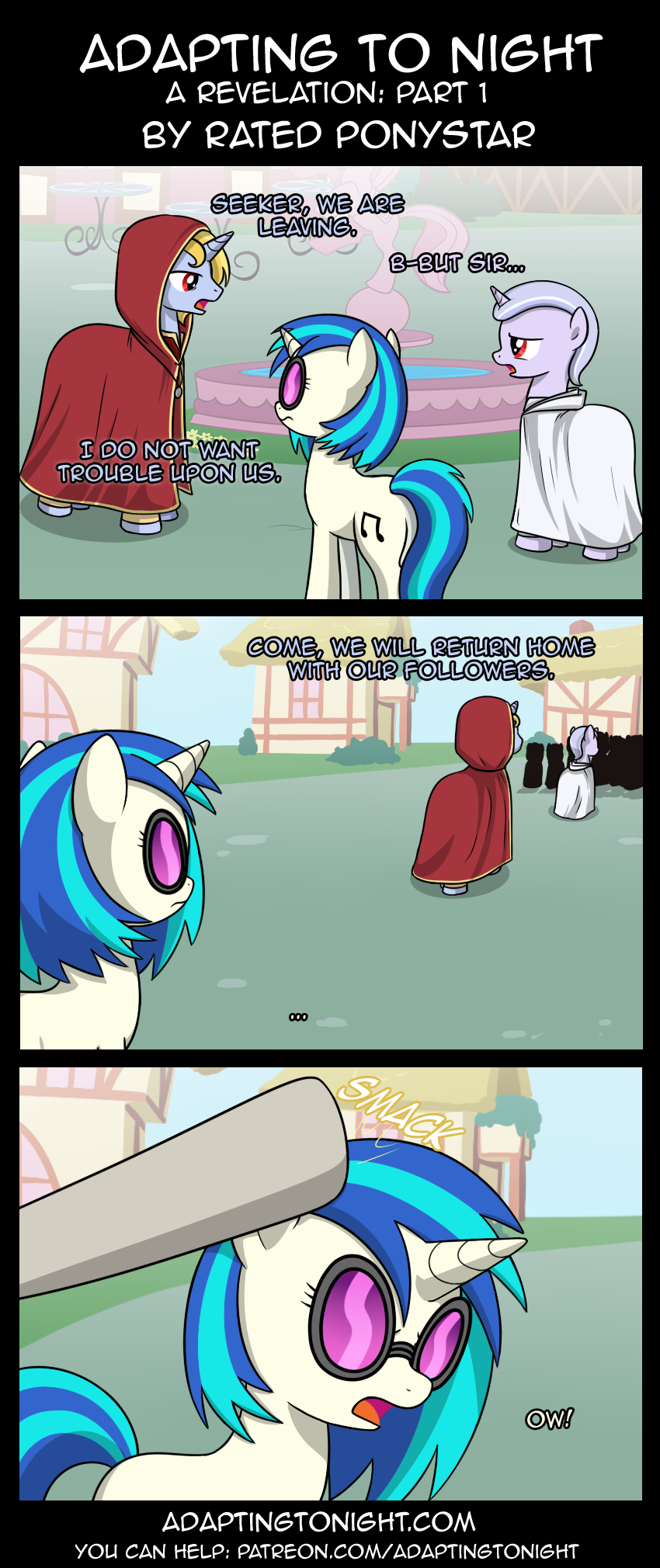 Adapting To Night: A Revelation - Part 1 by Rated-R-PonyStar