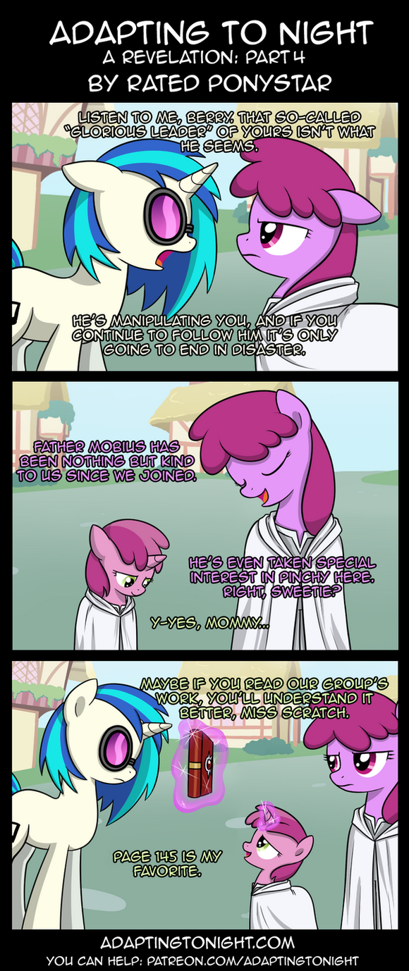 Adapting To Night: A Revelation - Part 4 by Rated-R-PonyStar