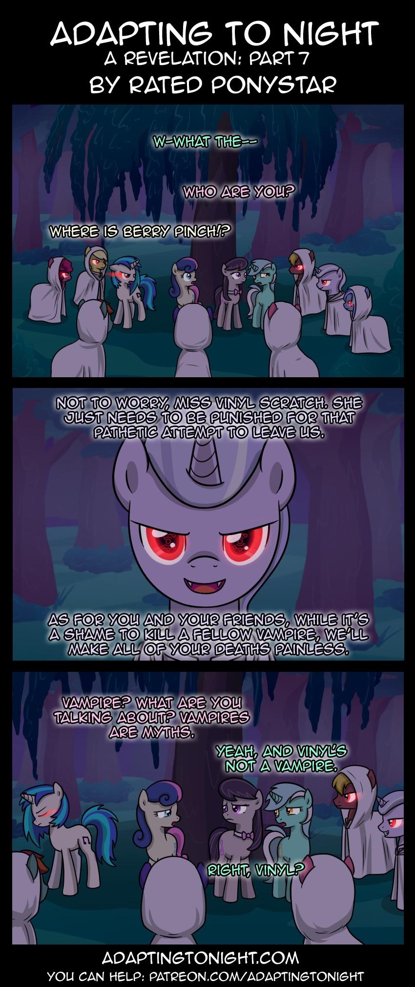 Adapting To Night A Revelation Part 7