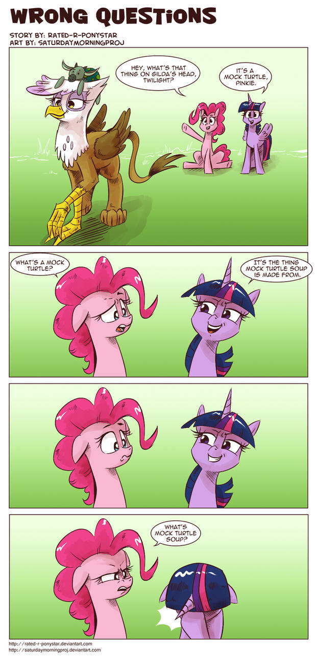 wrong questions by rated r ponystar on wrong questions by rated r ponystar