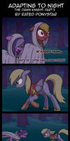 Adapting To Night: The Dawn Knight Part 3 by Rated-R-PonyStar
