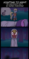 Adapting to Night: The Dawn Knight Part 5 by Rated-R-PonyStar