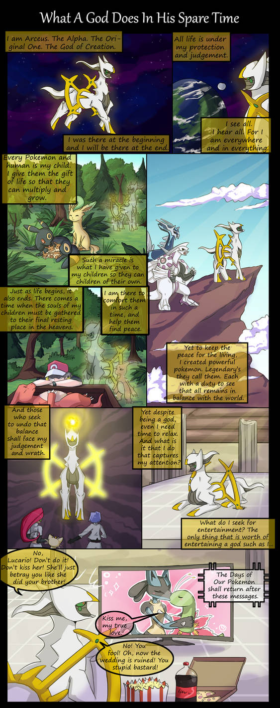What A God Does In His Spare Time by Rated-R-PonyStar