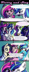 Flurry and Stag: Chapter 1 Page 2 by Rated-R-PonyStar