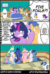 Patreon Reward:The Magic of Pregnancy Page 2 by Rated-R-PonyStar