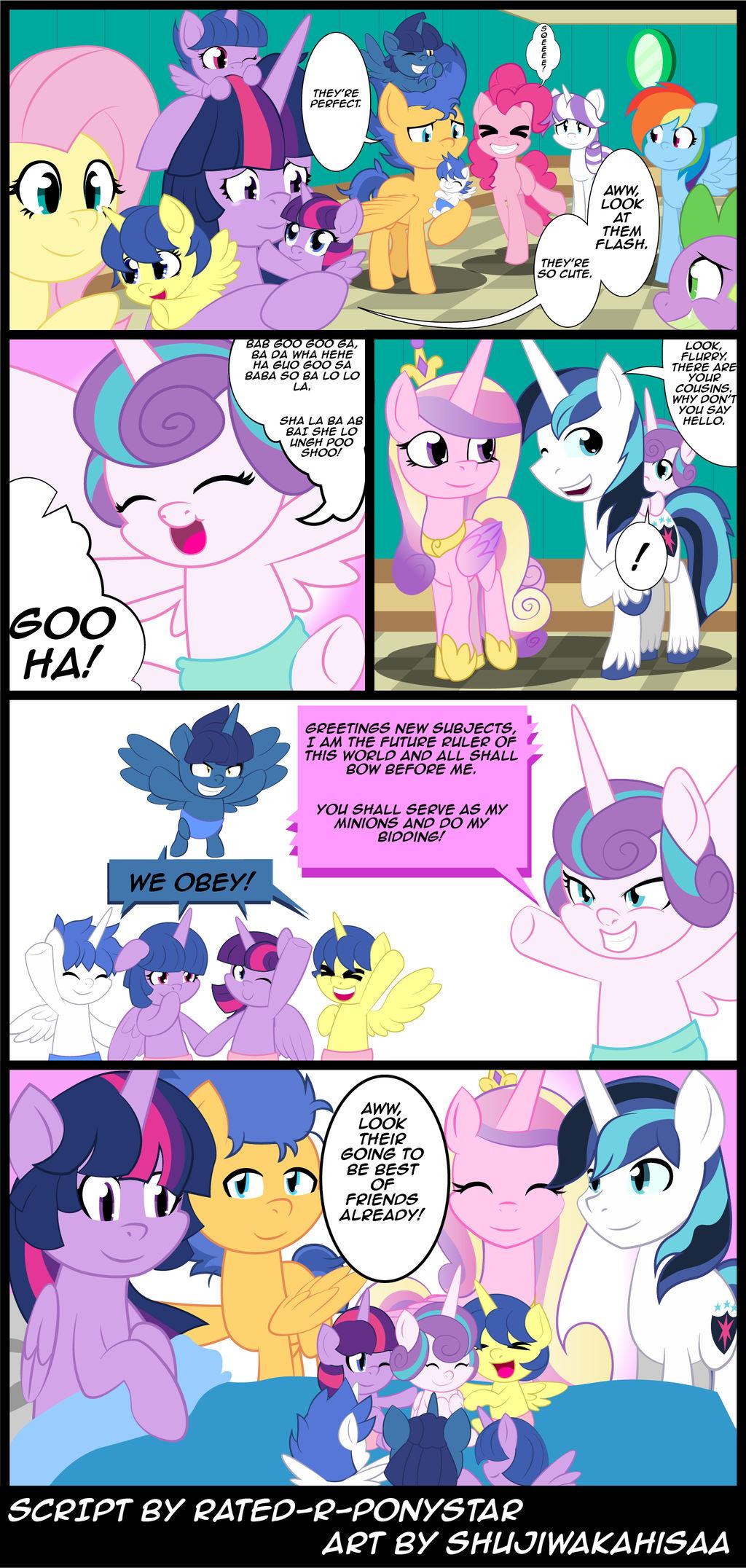 Aww RD is cutest pony t