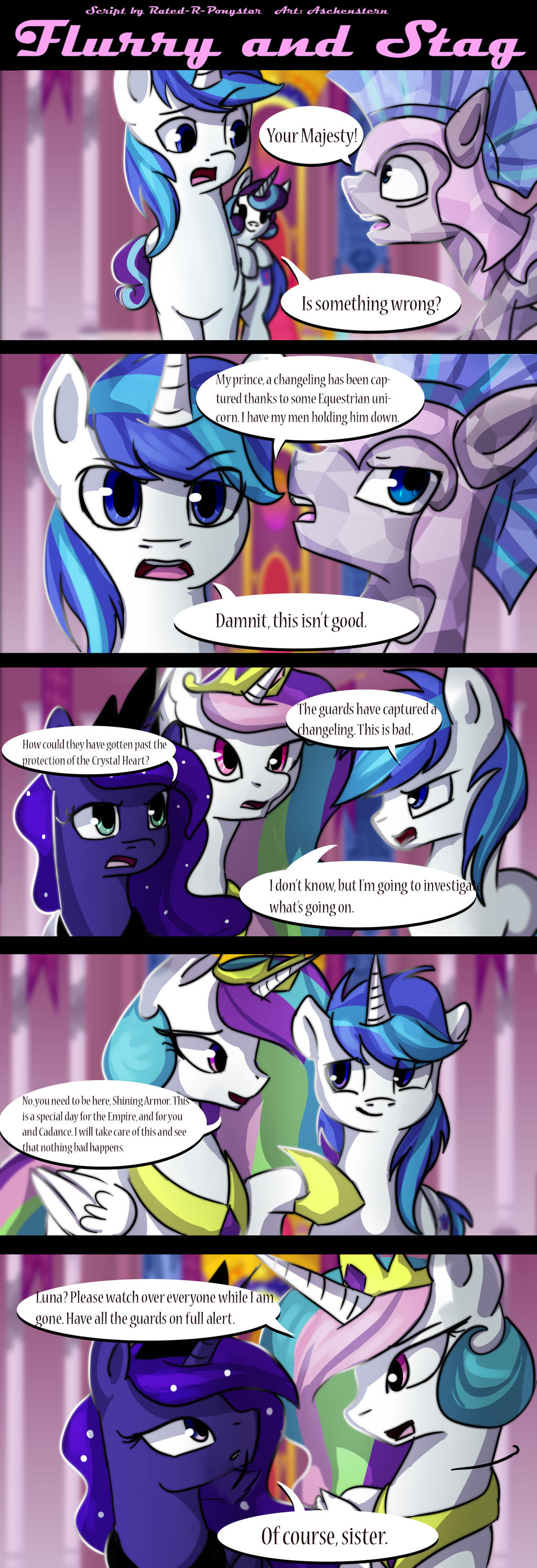 Flurry and Stag: Chapter 1 Page 6