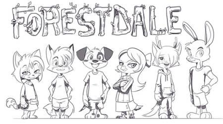Future Original Comic: Forestdale
