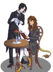 Sebastian And Zara by poundge