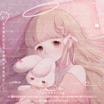 [Commission] Headshot - Good Night Princess by Unipez