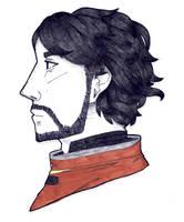 Traditional Ink Test - Morgan Yu by MatoMiku1284