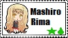 mashiro rima stamp by mangaismything2