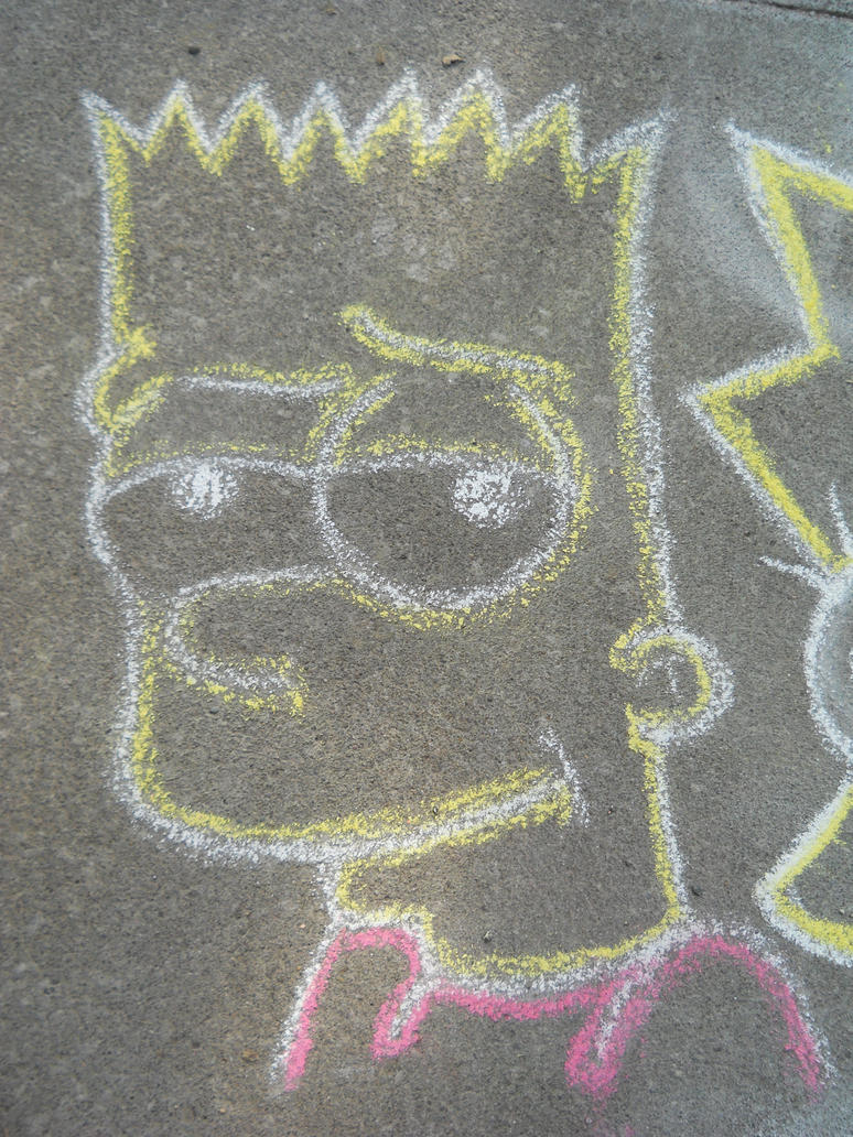 Chalk Bart by Hippsj93