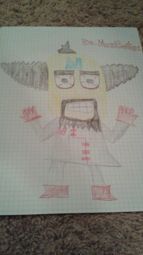 Old Dr. Neo Cortex Art by DemonDamon97