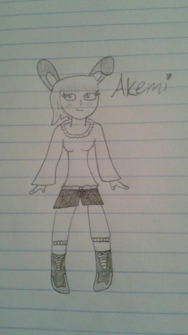 Akemi (My Version) by DemonDamon97