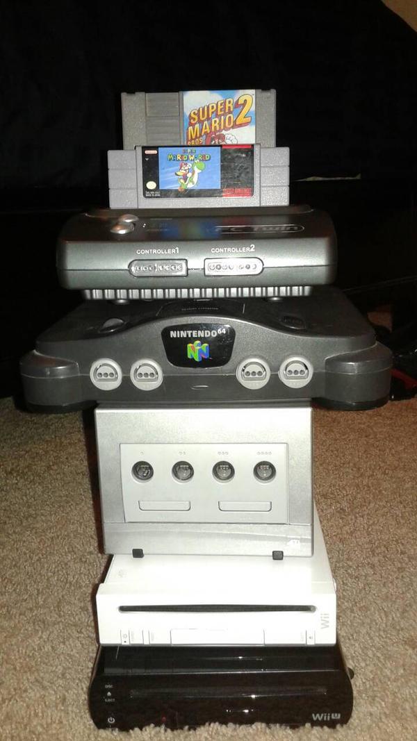 Nintendo Tower of Power by DemonDamon97