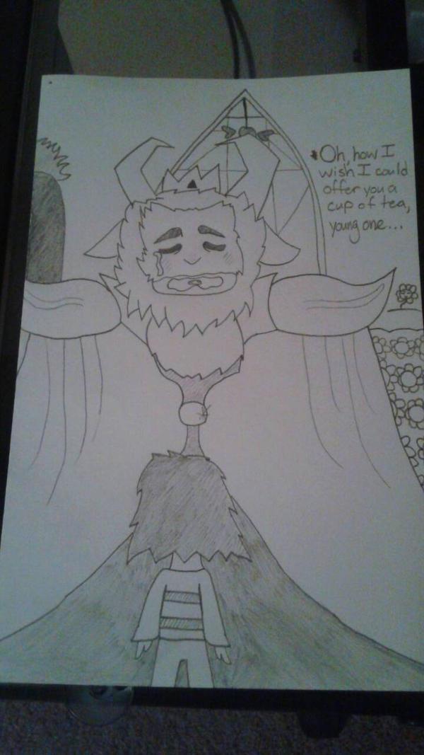 Asgore's Sorrow by DemonDamon97