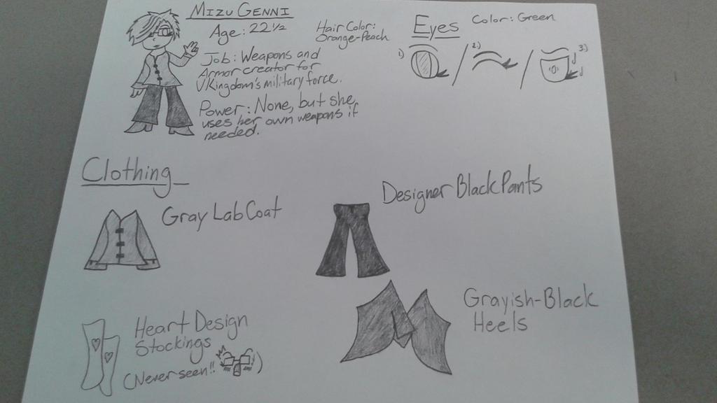 (Mizu) Part 1 - V Kingdom Character Sheet 4 by DemonDamon97