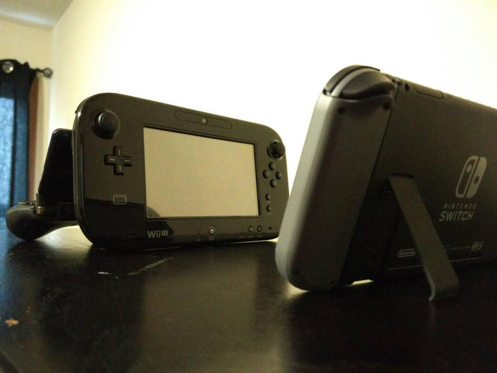 Wii U: Now With Kickstand by DemonDamon97