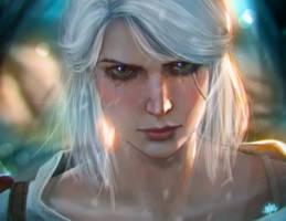 Ciri [Witcher 3 fanart]