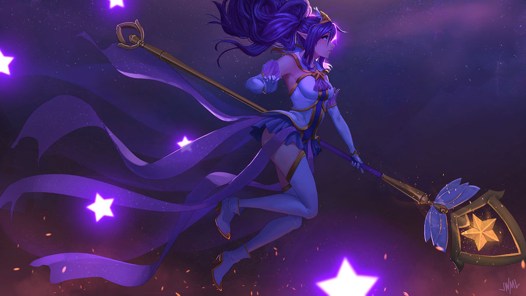 Star Guardian Janna [Garena LoL PH contest] by SteamyTomato