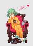 Tatsumaki / One Punch Man (Personal Tshirt Design)