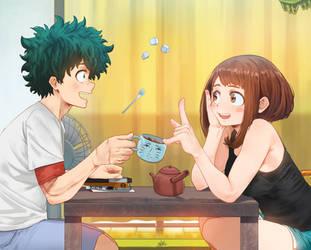 Ho-Kago Tea Time by SteamyTomato