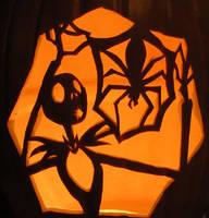 Jack Skeleington pumpkin by DarkSunrise4444