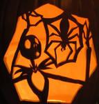 Jack Skeleington pumpkin