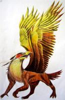 Talon The Gryphon by Blaze-Fiery-Kitty