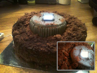 LOST  'The Hatch' Cake by Kiwikku