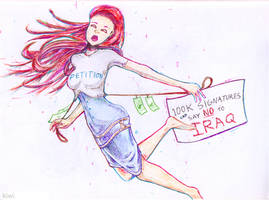 PETITION- SAY NO TO IRAQ by Kiwikku