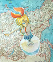 Around The World by Kiwikku