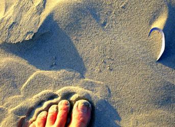 Foot forward