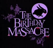 Birthday Massacre Flyer by birthdaymassacre