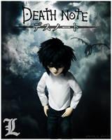 Miki: Deathnote - L Cosplay by prettyinplastic