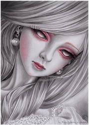ghost girl Sirene by prettyinplastic
