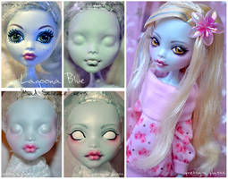 Face-up: Loona (MH repaint) by prettyinplastic