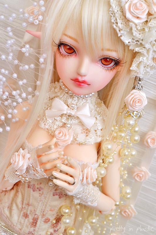 Cream Rose ::02:: by prettyinplastic