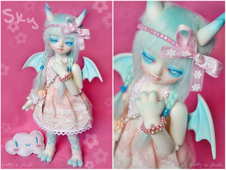 Sky the celestial dragon girl .:01:.