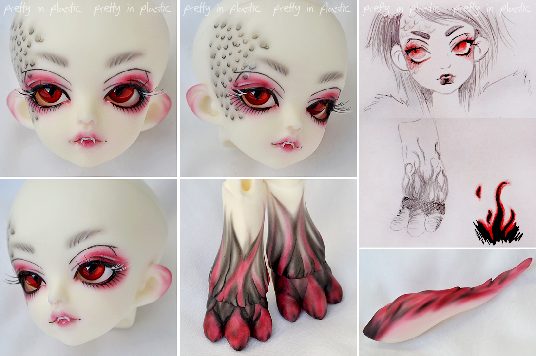 Face-up: Miro by prettyinplastic