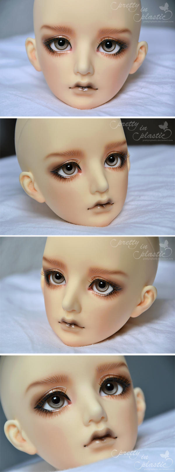 Face-Up: Maskcat Nerine (boy version) by prettyinplastic