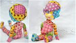 Commission  - Lati Yellow Suji - Patchwork doll 01