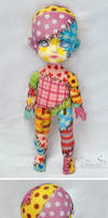 Commission  - Lati Yellow Suji - Patchwork doll 02